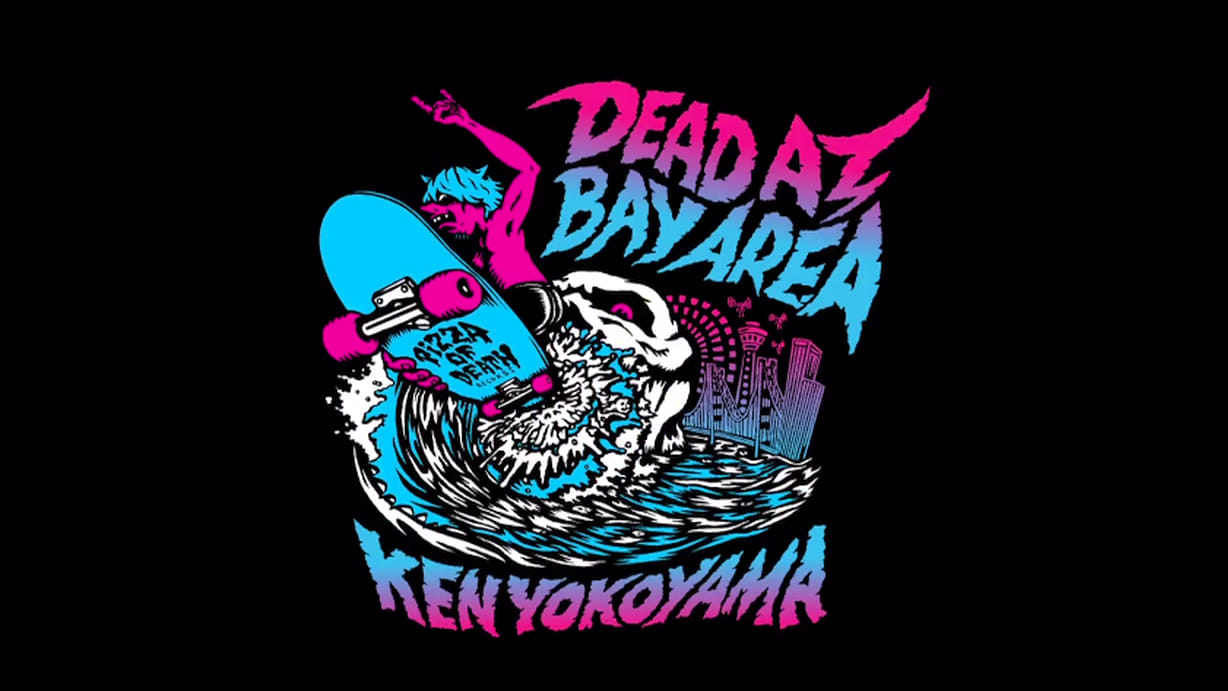 "Ken Yokoyama / ""DEAD AT BAYAREA"" Movie Trailer"