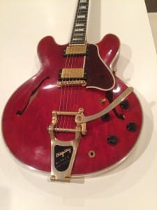 No.13 Gibson Memphis ES-355 VOS w/Bigsby Faded Cherry