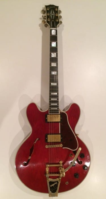 No.13 Gibson Memphis ES-355 VOS w/Bigsby Faded Cherry / name:Freddy