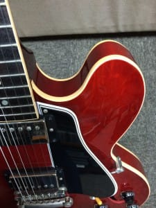 No.15 Gibson Custom ES-335 Dot Gloss faded Cherry