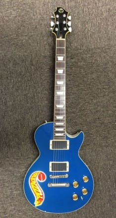 No.16 ESP Custom Order Made Les Paul Type / name:Blue