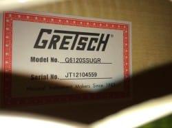 No.21 Gretsch G6120SSUGR