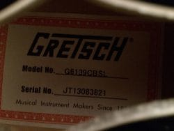 No.24 Gretsch G6139 CBSL