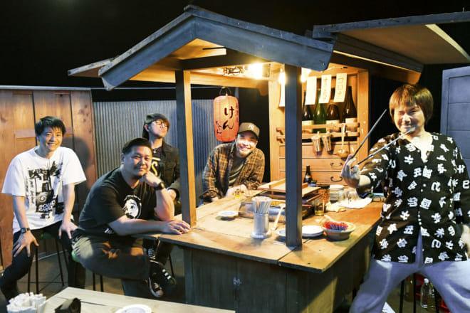 6/4(金)Ken Yokoyama「4Wheels 9Lives」発売記念「新・居酒屋けんちゃん」放送決定!